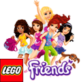 Раскраски LEGO Friends
