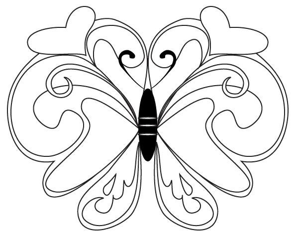 Влюбленная бабочка бабочка любимица