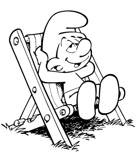 Раскраска карыч из смешариков