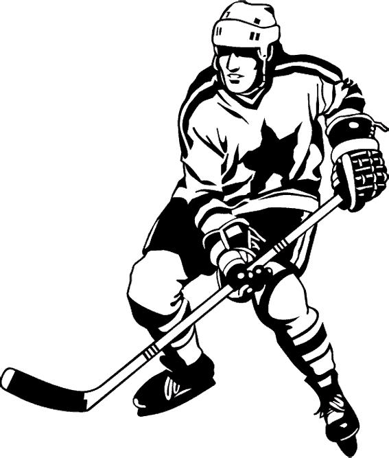 Раскраски хоккей лучший бомбардир в