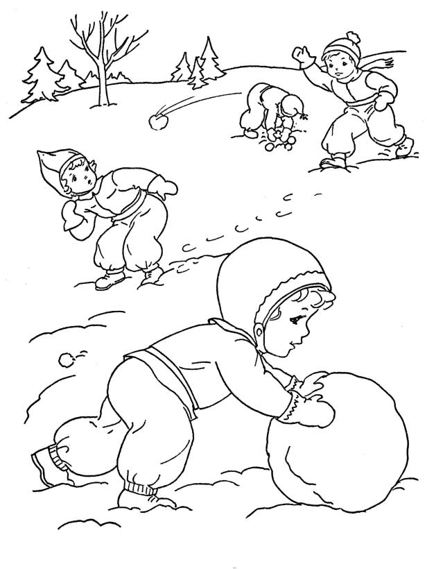 зимняя игры флеш