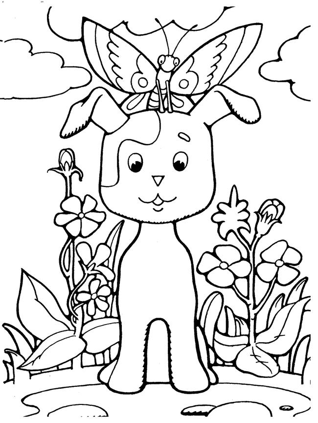 Раскраски котенок по имени гав