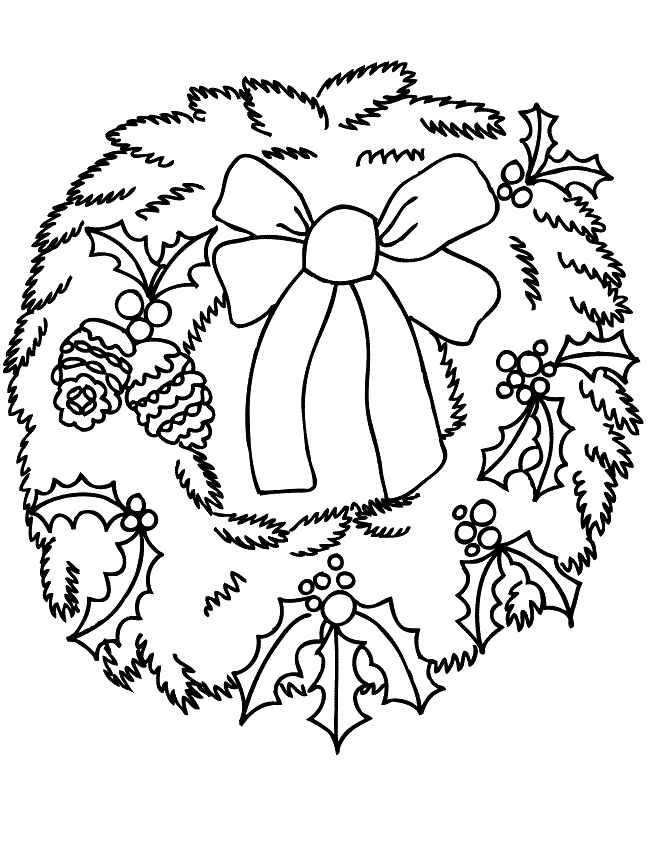Рождество Раскраски Раскраски на Рождество