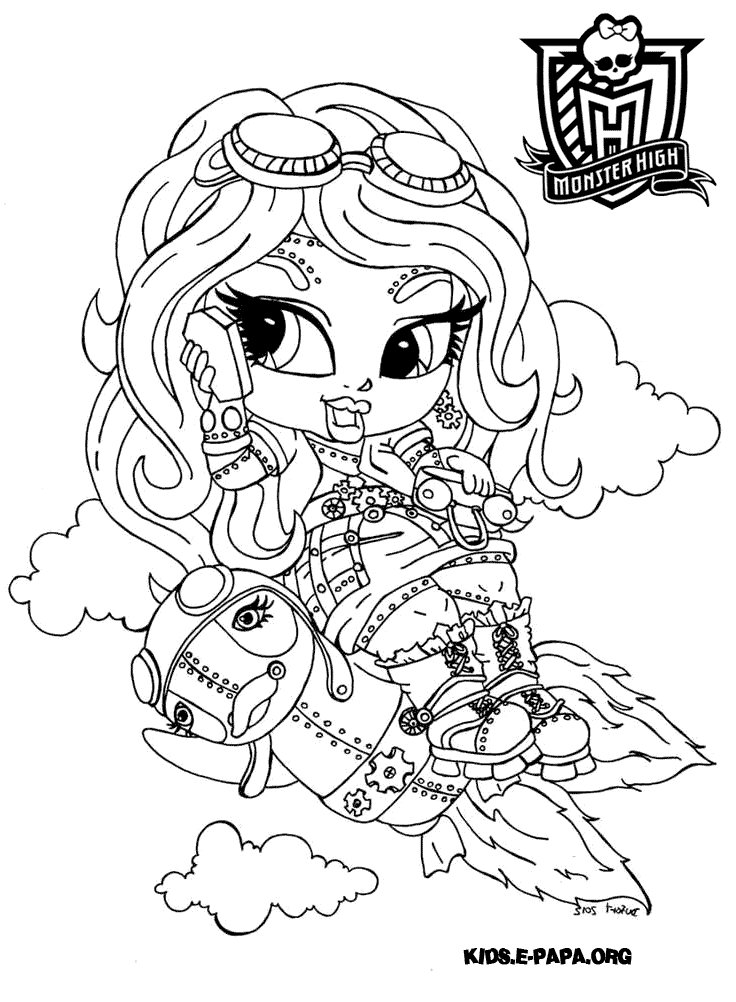 Robecca Steam Kolorowanki Monster High