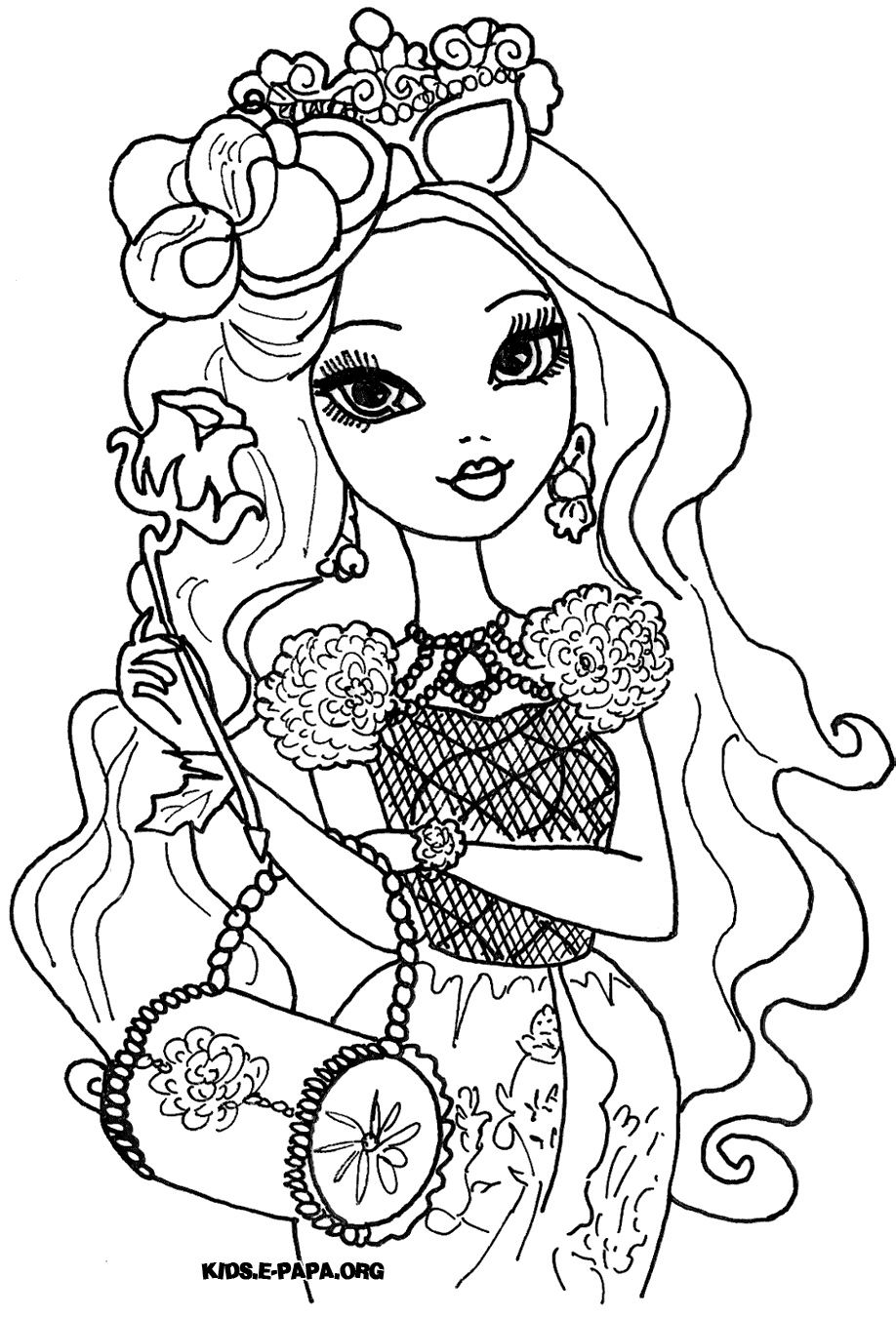 Briar Beauty Kolorowanki Kolorowanki Ever After High