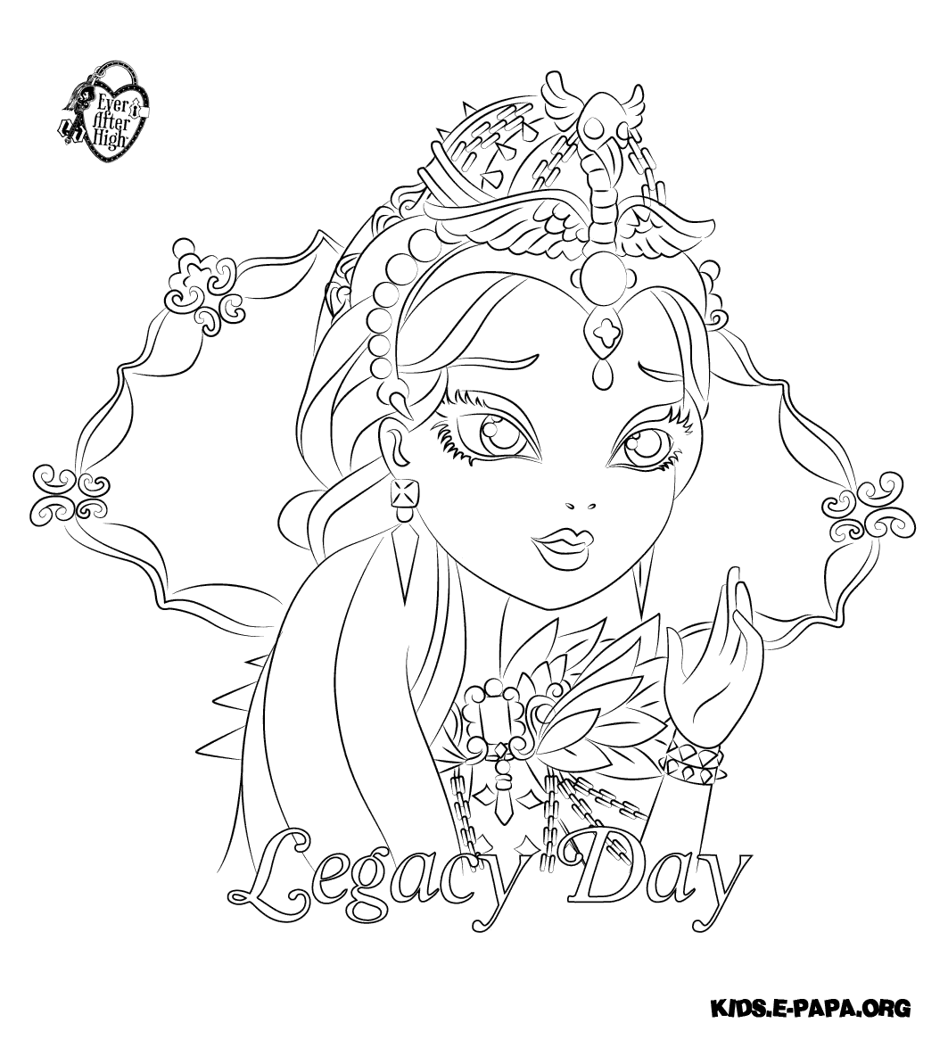 Monster High Ausmalbilder : Coloring Pages Of Raven Queen Best Ideas For Printable And