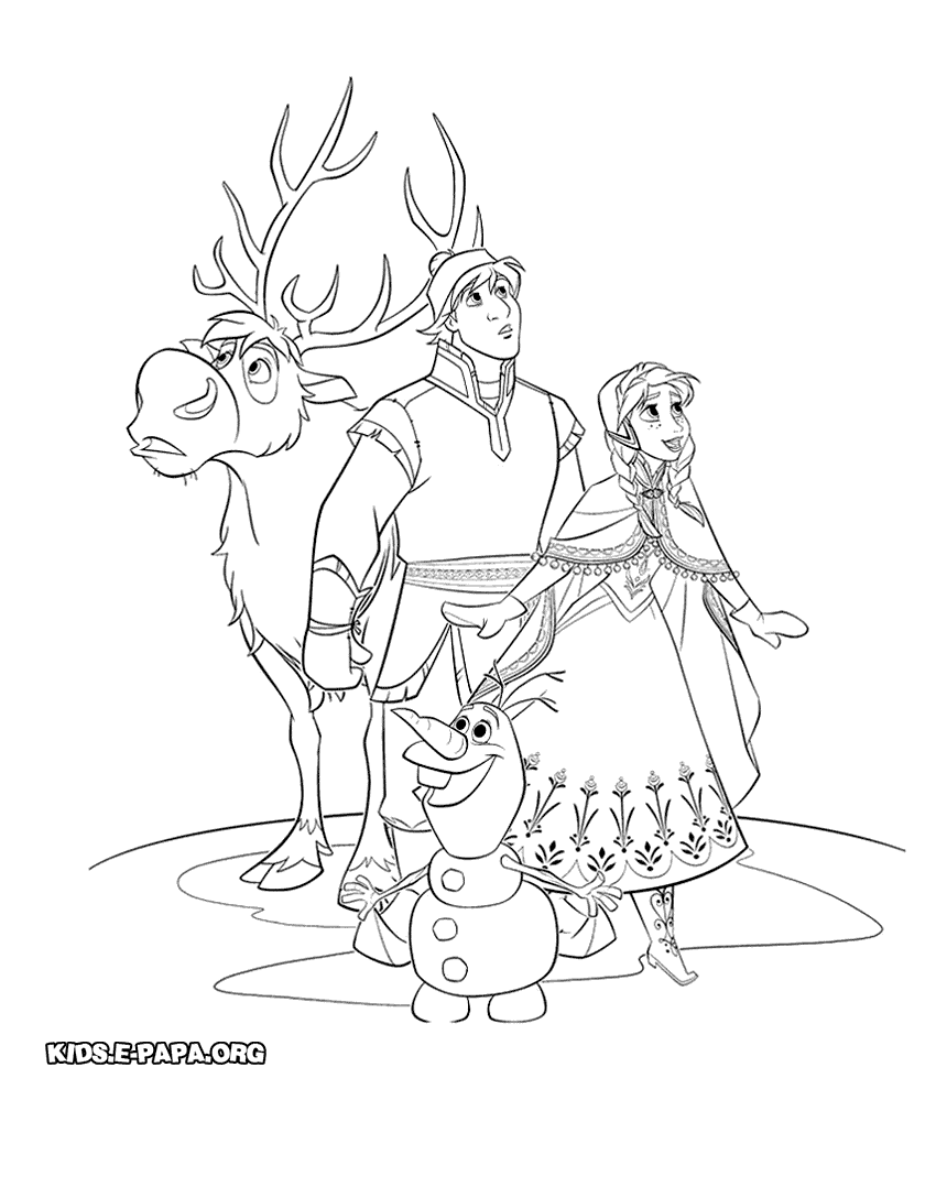 Eiskönigin 2 Ausmalbilder : Frozen Kristoff And Sven Coloring Pages Kristoff From Disney Frozen