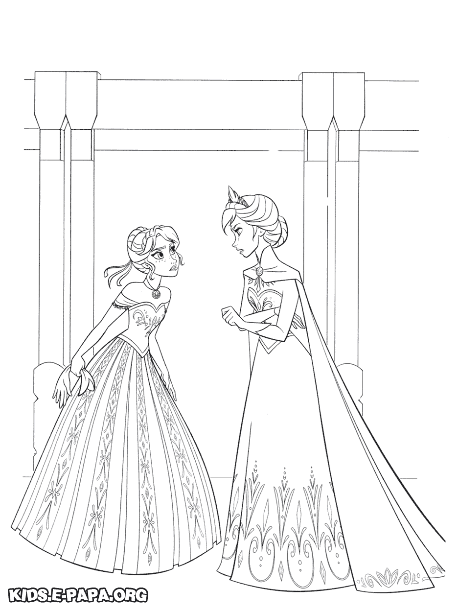 Frozen Coloring Pages Hans