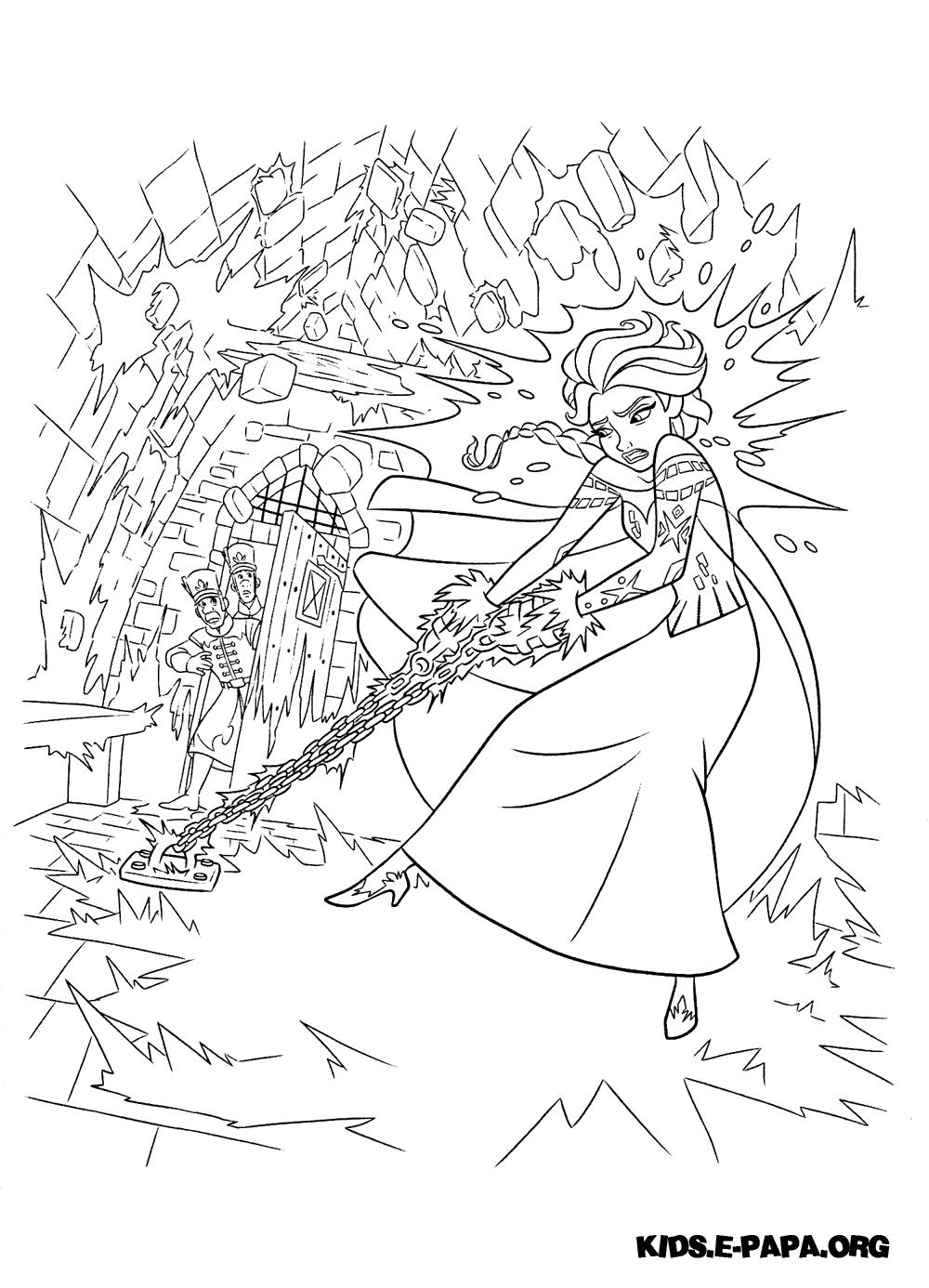 эльза раскраски раскраски холодное Wallpaper Articela