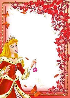 Рамка для маленькой принцессы