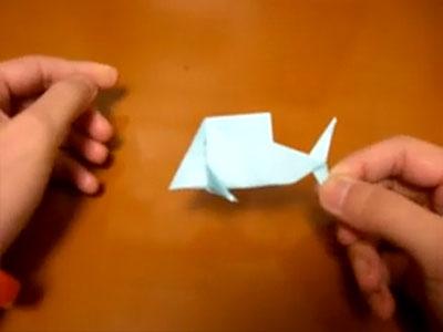 Как сложить рыбку Оригами для