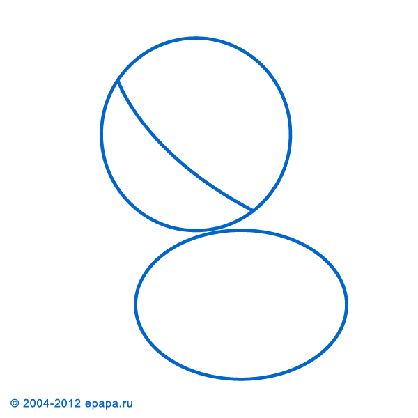 Как нарисовать пони шаг 1